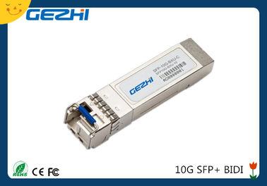 China módulos BIDI TX1270nm do transceptor do Sfp da taxa da data 10G/conector do LC palavra simples de RX1330nm 20km fábrica