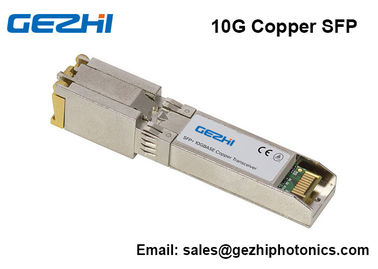 China módulo RJ45 do transceptor 10GBASE-T SFP do cobre de 10G SFP+ distribuidor