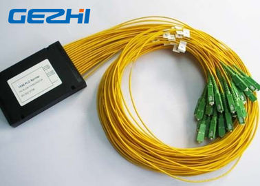 China LAN/mini divisor MACILENTO 0.9mm blockless do PLC da fibra óptica do módulo com o conector do SC/UPC distribuidor